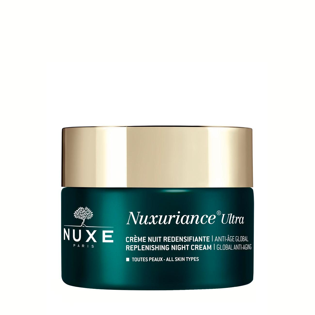 Nuxuriance Ultra - Replenishing Night Cream Global Anti-Aging 50ml Nuxe imagine 2021 bestvalue.eu