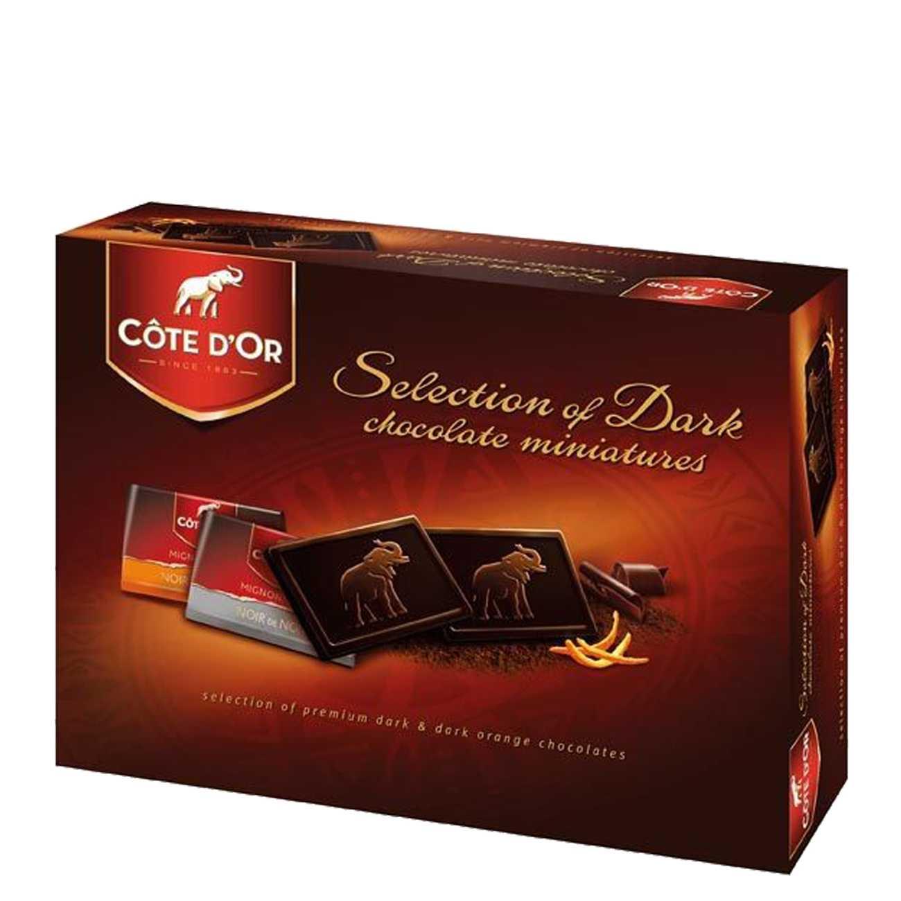 DARK CHOCOLATE MINIATURES 480 G