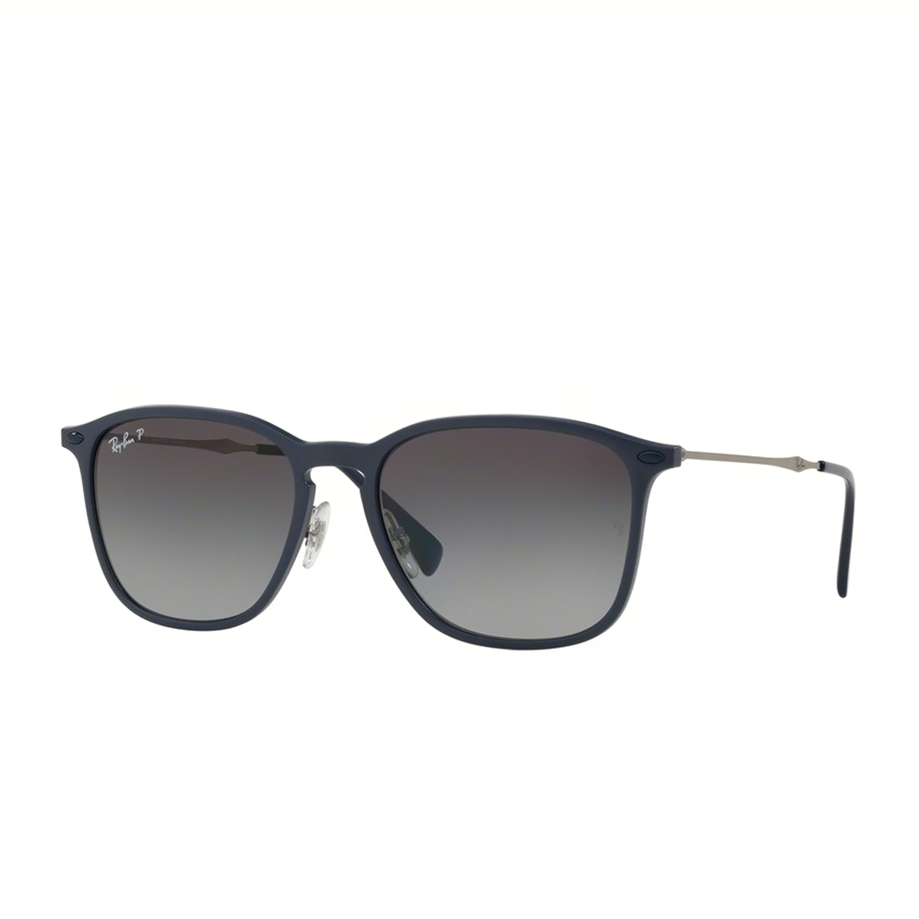 RAY BAN 0RB83536353T356 SUNGLASSES WITH A FRAME MADE OF PLASTIC IN BLUE AND LENSES MADE OF POLICARBO imagine produs