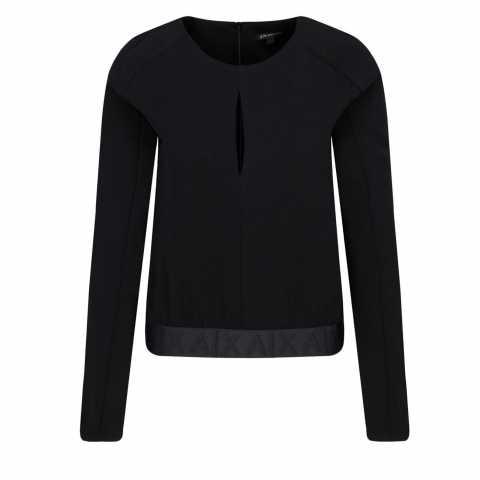 Armani Exchange BLOUSE REGULAR FIT S Bluze