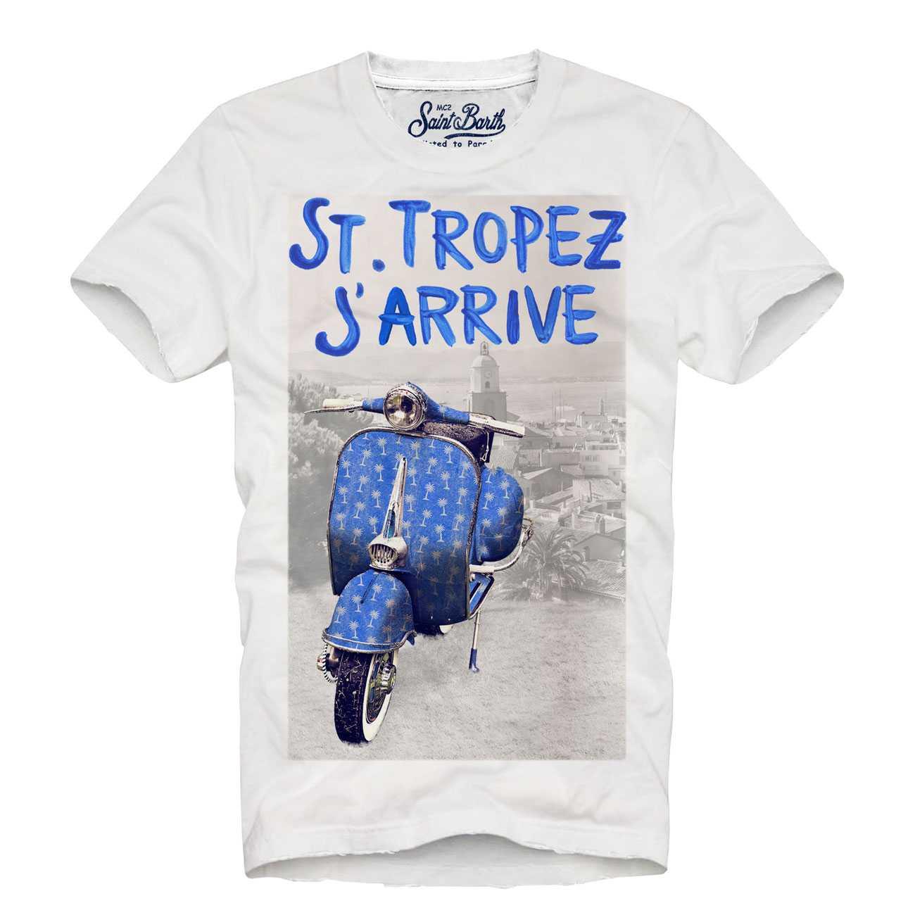 Tshirt Man Front Print M imagine