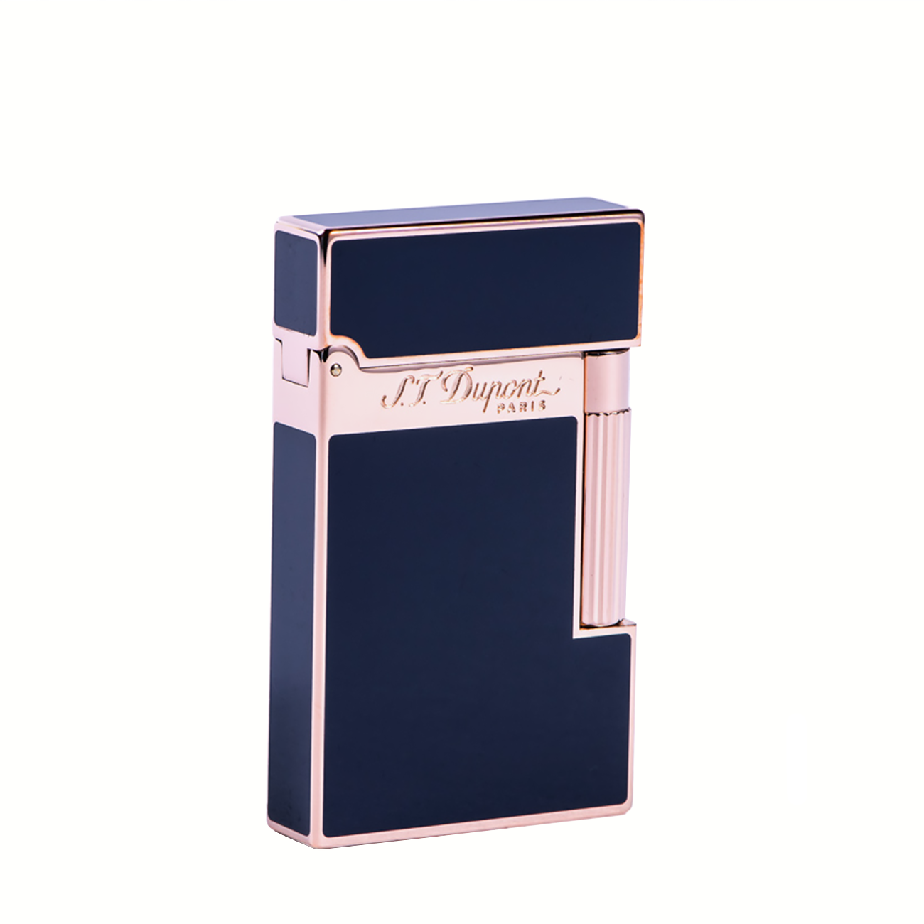 16424 PINK GOLD FINISH NATURAL LACQUER LIGHTER imagine produs