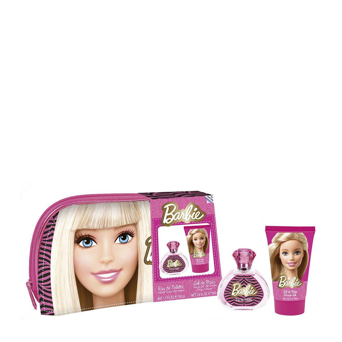 BARBIE TOILETRY BAG SET 150ml imagine produs