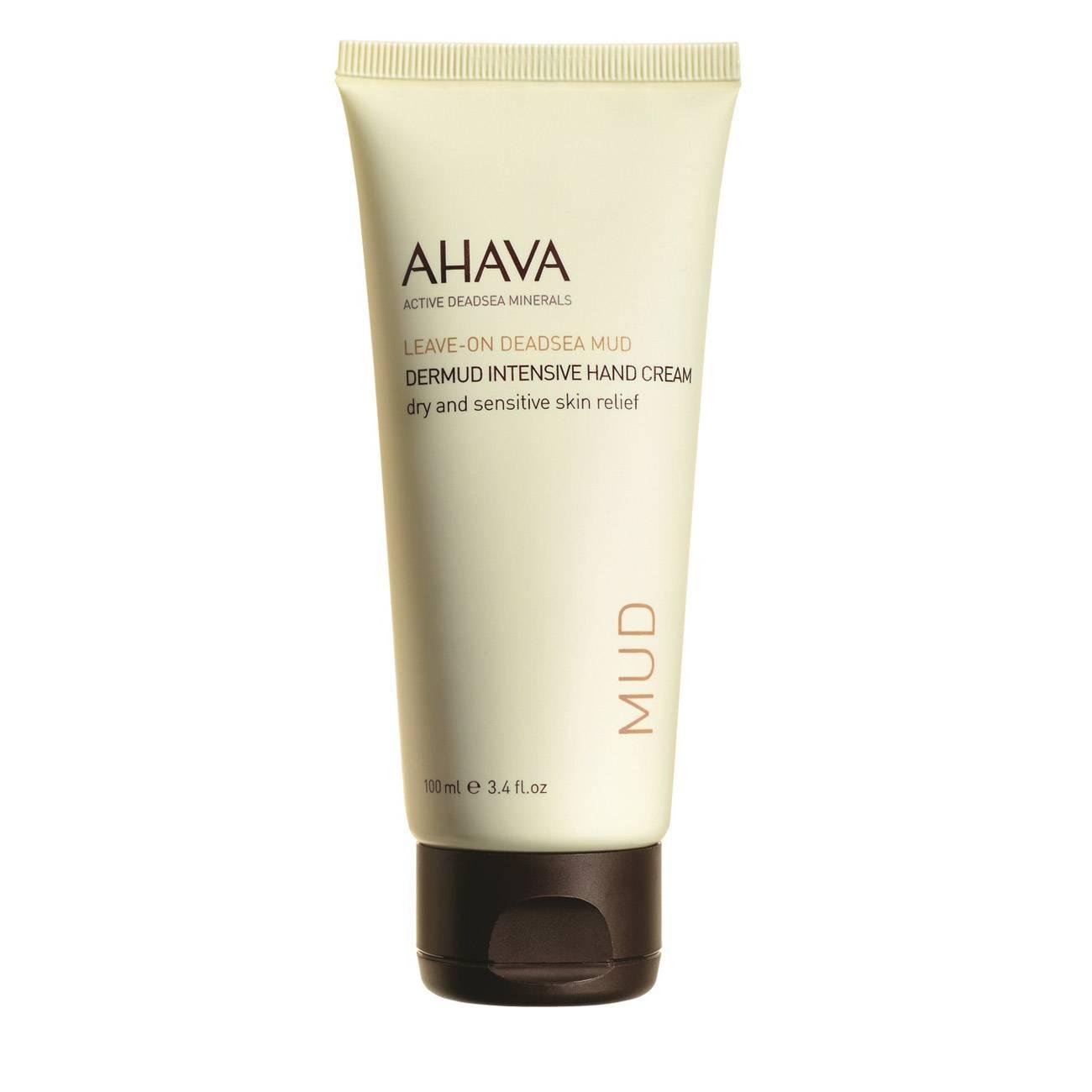 Leave-On Deadsea Mud Dermud Intensive Hand Cream 100 Ml Ahava imagine 2021 bestvalue.eu