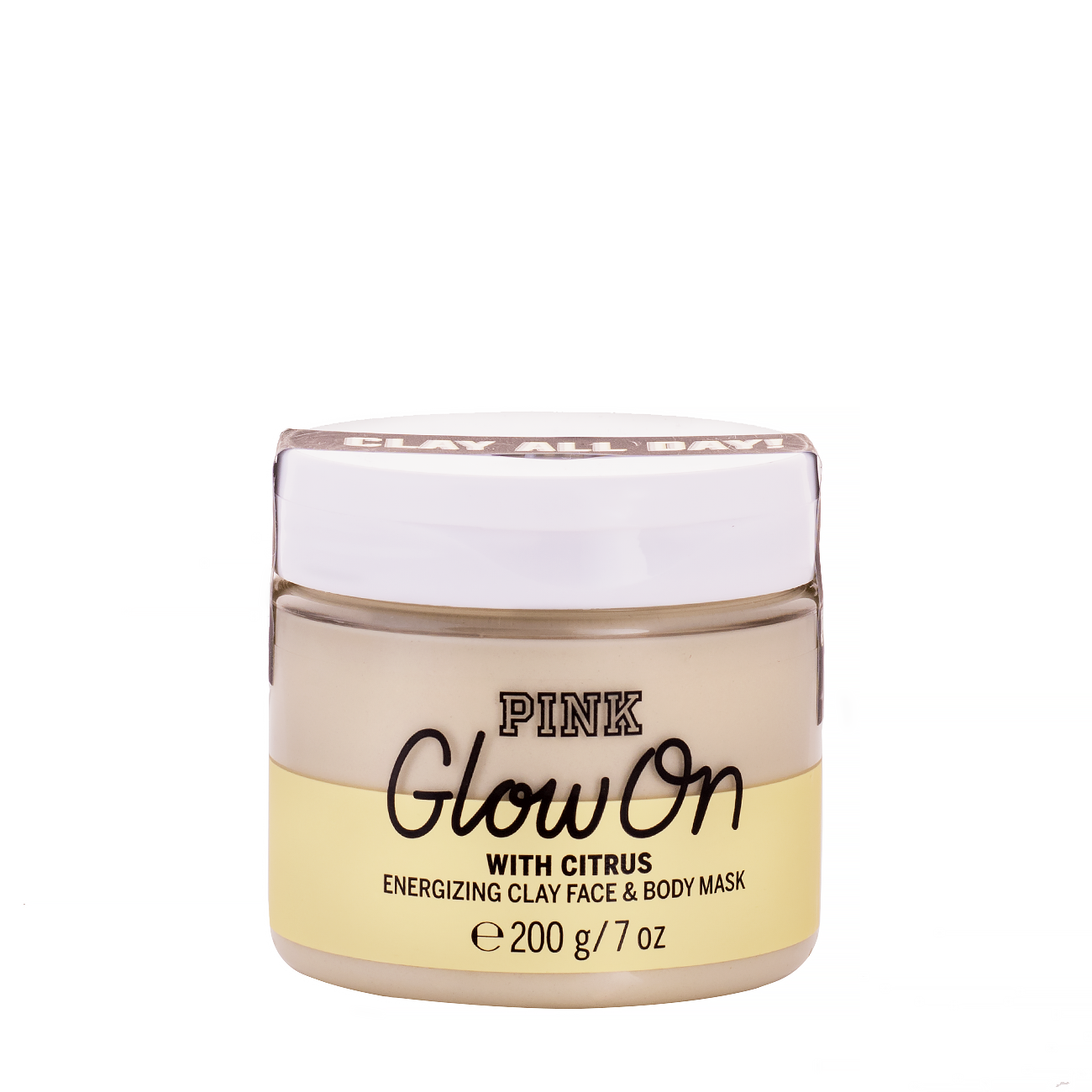 PINK GLOW ON ENERGIZING CLAY FACE & BODY MASK 200gr
