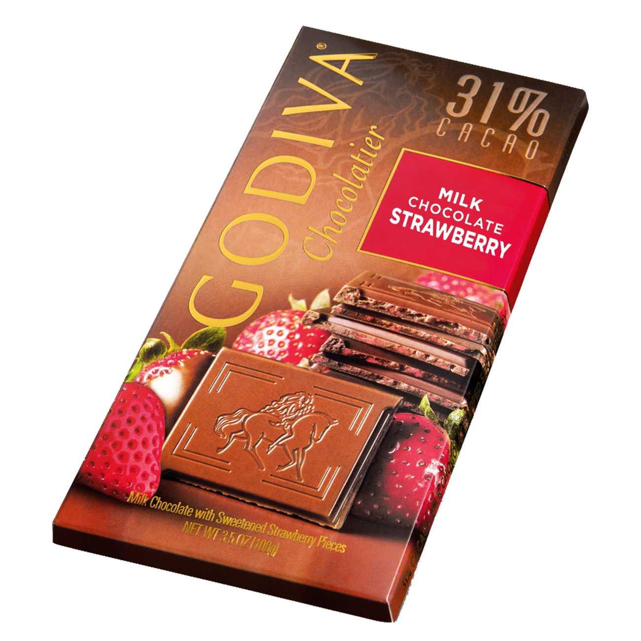 MILK CHOCOLATE STRAWBERRY 100 G