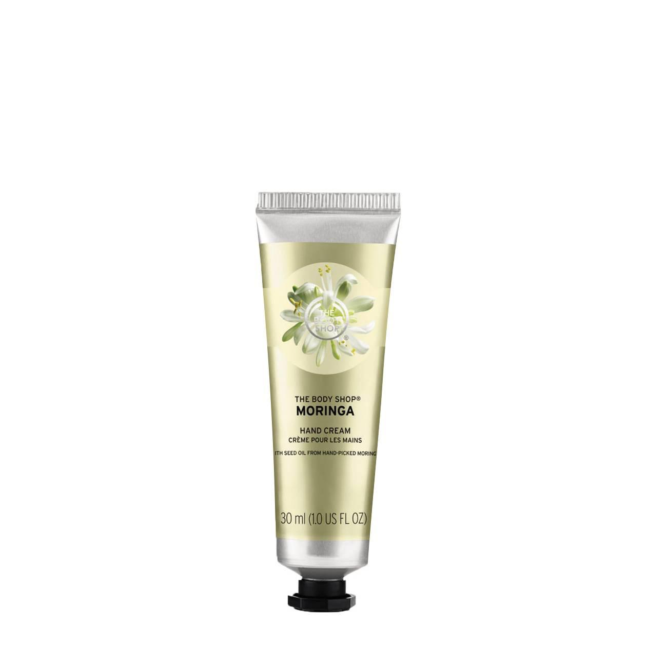Moringa Hand Cream 30ml The Body Shop imagine 2021 bestvalue.eu