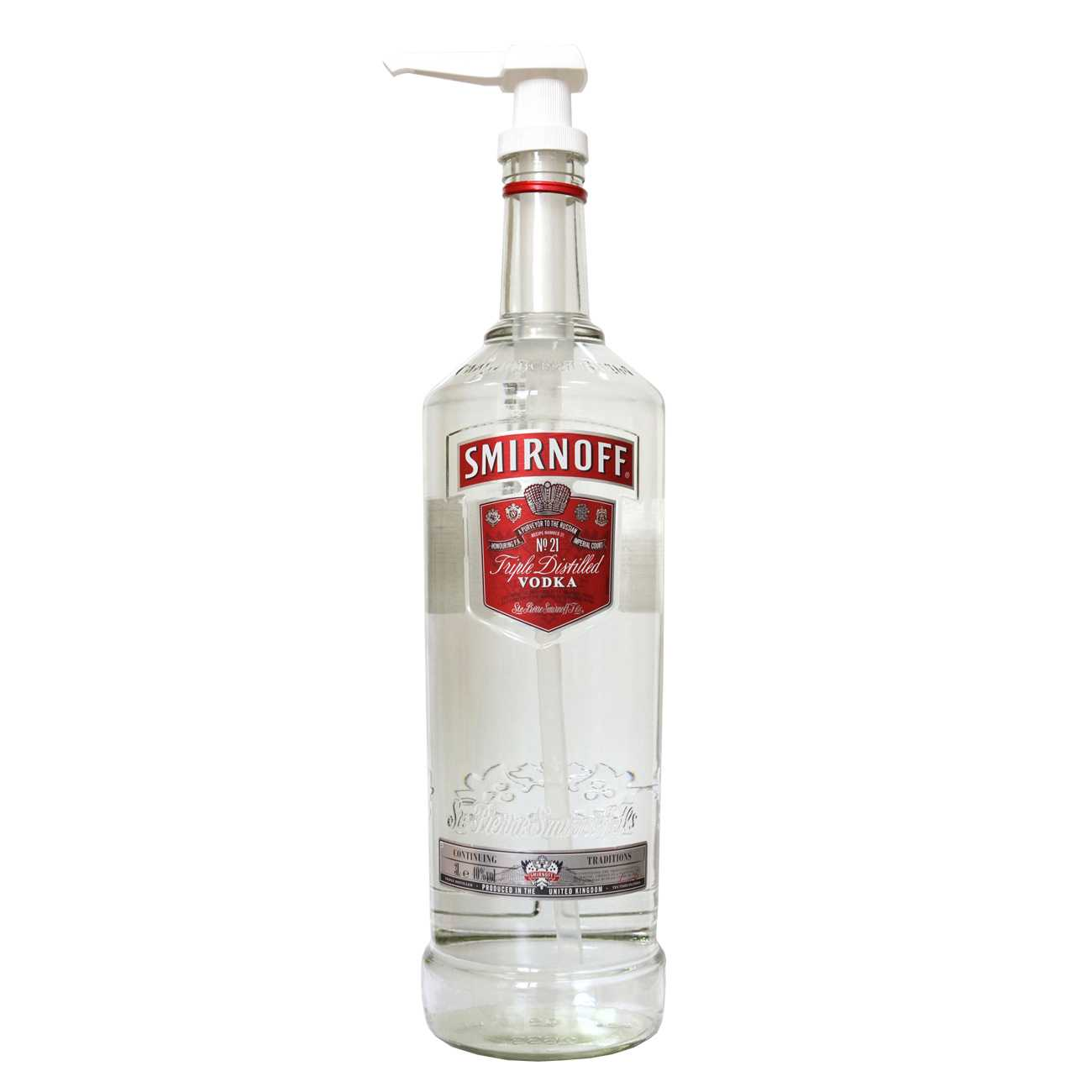 Vodka, RED LABEL 3000 ML, Smirnoff