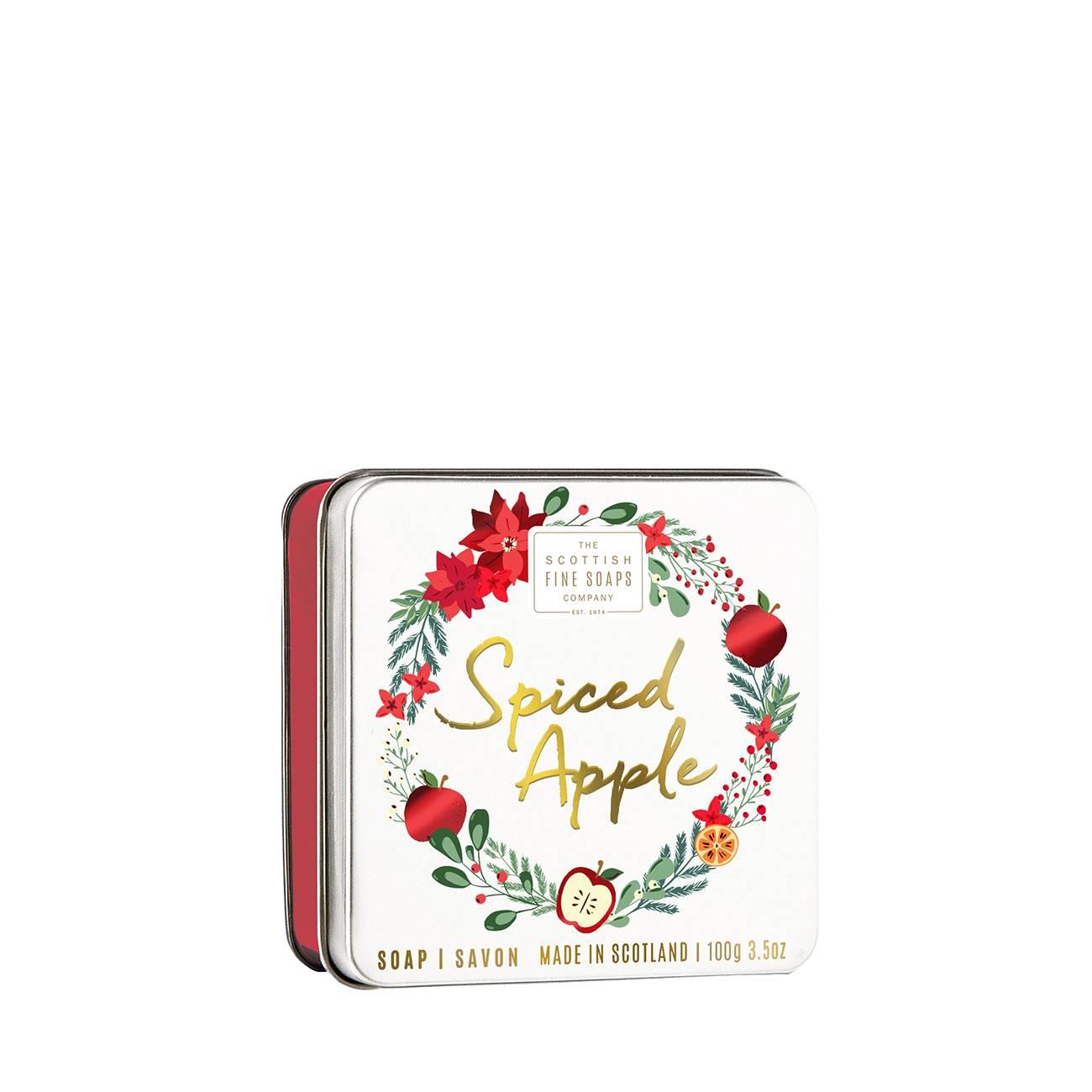 Spiced Apple Soap In A Tin 100gr Scottish Fine Soaps imagine 2021 bestvalue.eu
