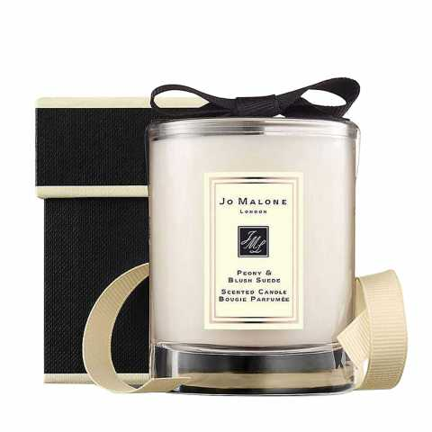 JO MALONE PEONY & BLUSH SUEDE TRAVEL CANDLE 60 GR