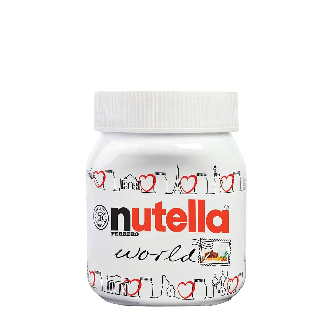 NUTELLA WORLD 350 Grame