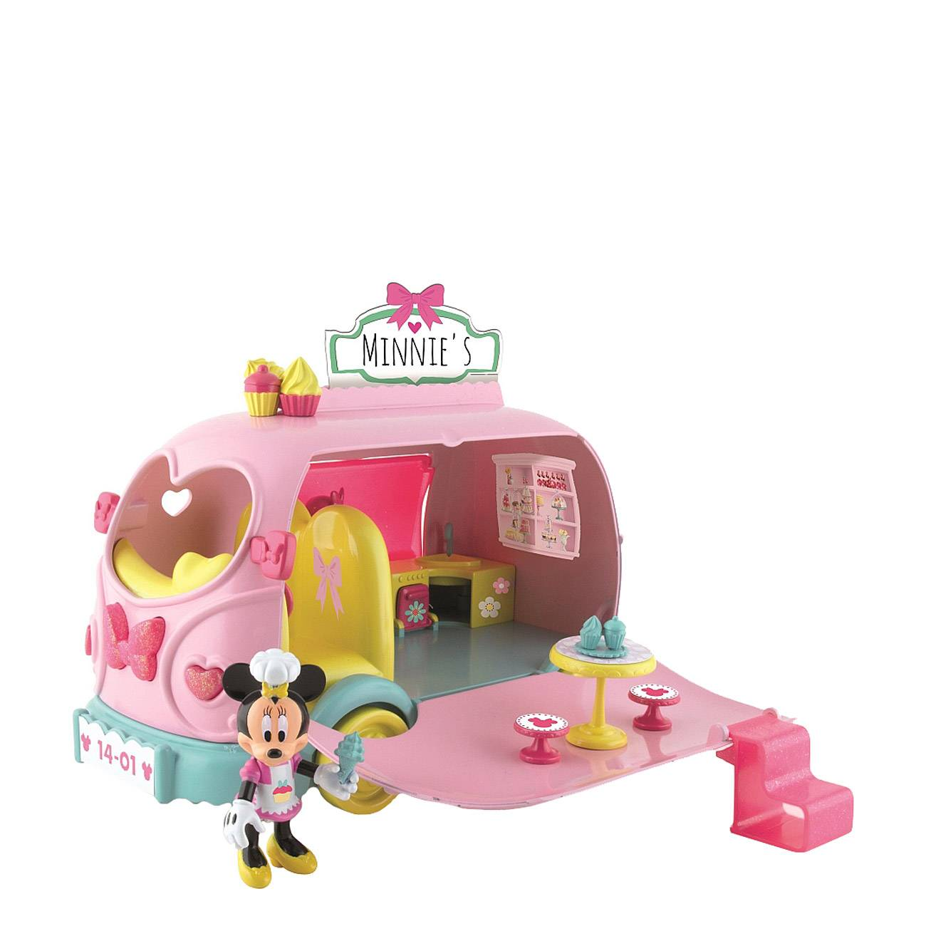 MINNIE MOUSE SWEETS & CANDIES VAN
