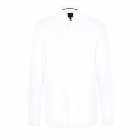 Armani Exchange PRINTED SHIRT XS Bluze