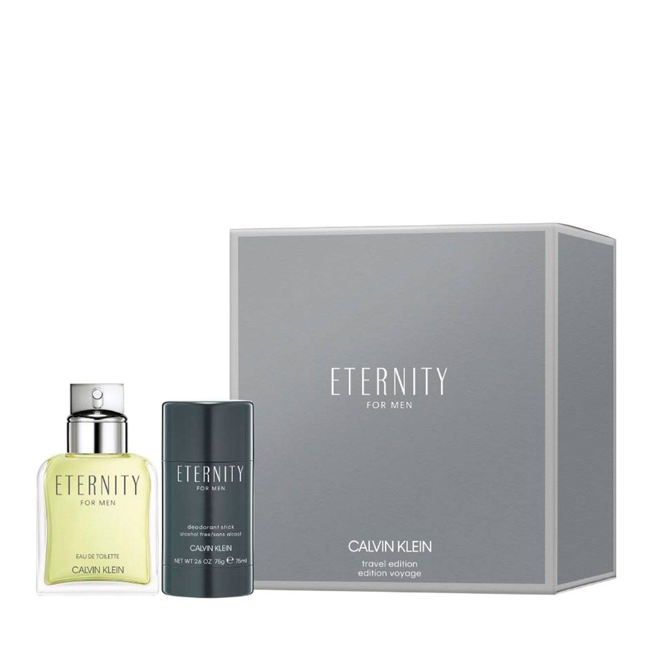 Eternity For Men Set 175ml