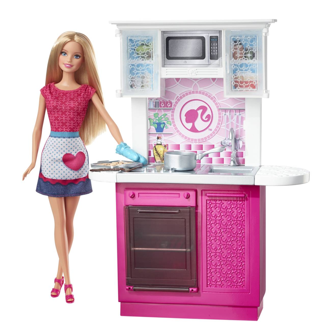 DOLL AND DELUXE KITCHEN