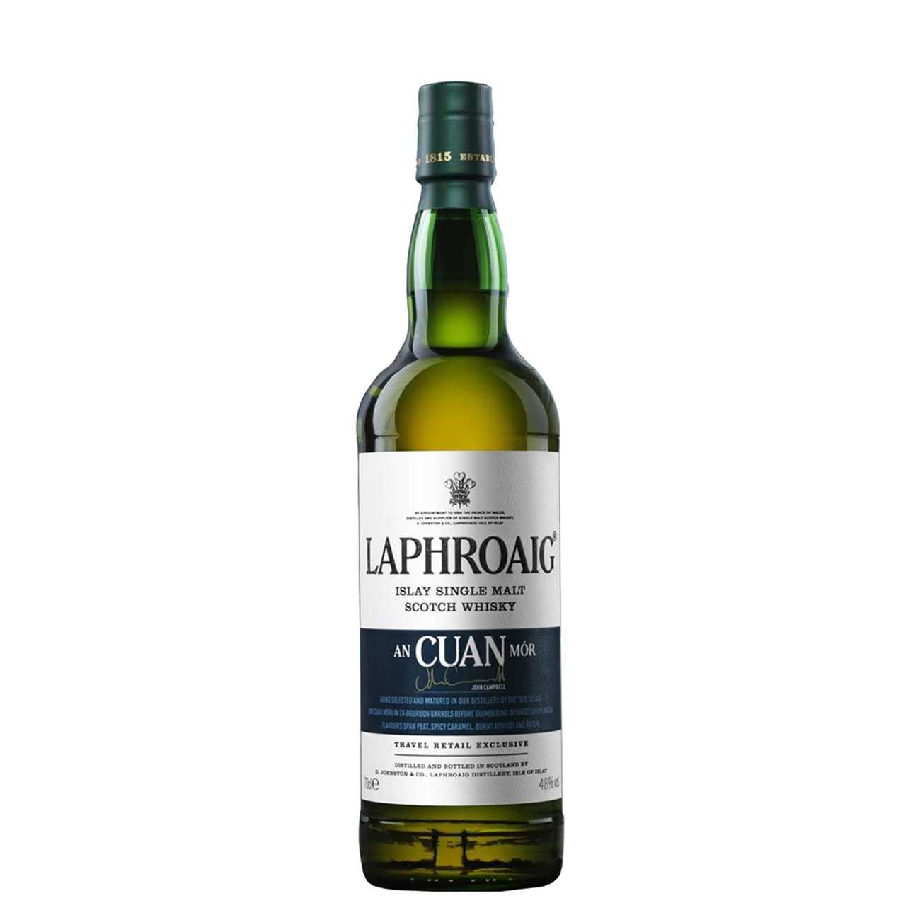 Whisky scotian, AN CUAN MOR 700 ML, Laphroaig