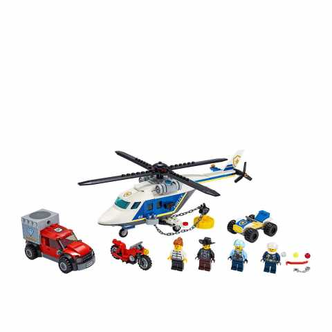 Lego CITY POLICE HELICOPTER CHASE Jucarii