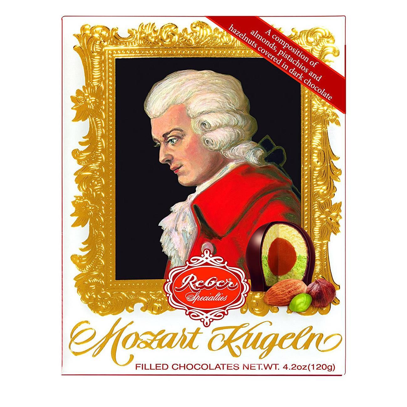 355 MOZART-KUGELN CHOCOLATES 120 Grame