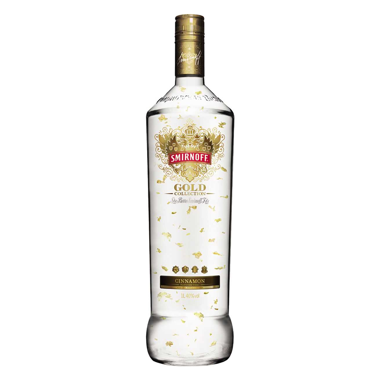 Vodka, GOLD CINNAMON 1000 ML, Smirnoff