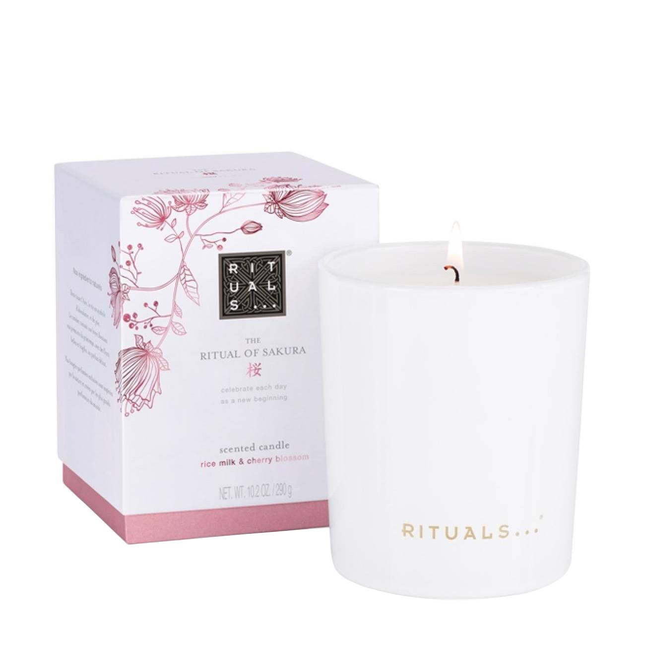 Sakura Scented Candle 290 Ml Rituals imagine 2021 bestvalue.eu