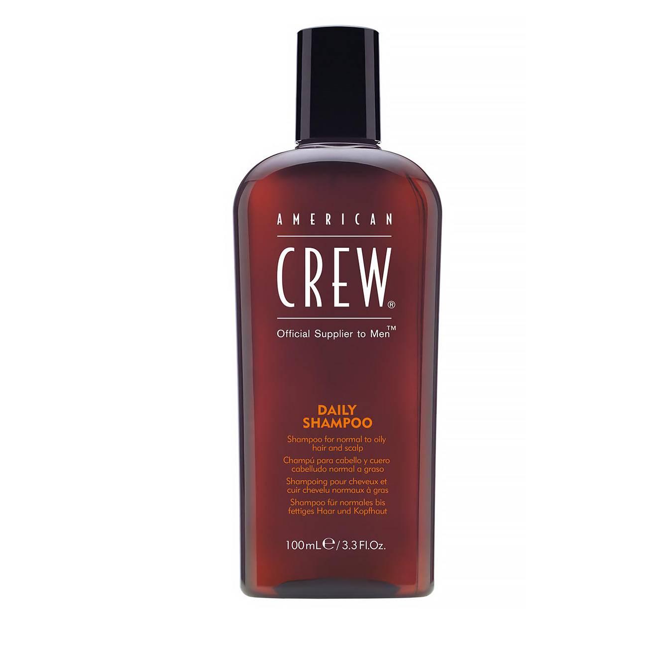 Daily Shampoo 100ml American Crew imagine 2021 bestvalue.eu