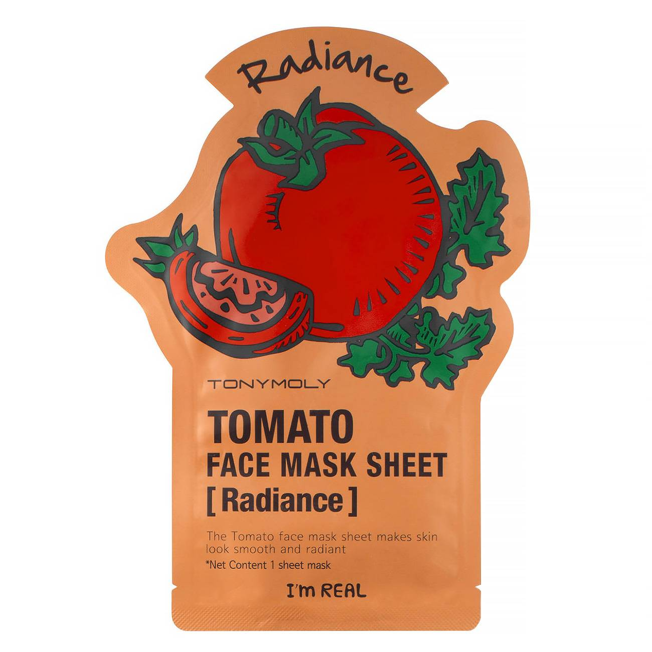 I Am Real Tomato Sheet Mask 21ml