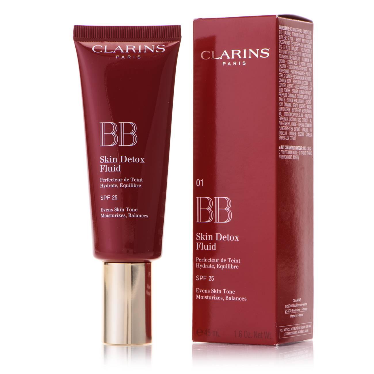 Bb Skin Detox Fluid 01 45 Ml Clarins imagine 2021 bestvalue.eu
