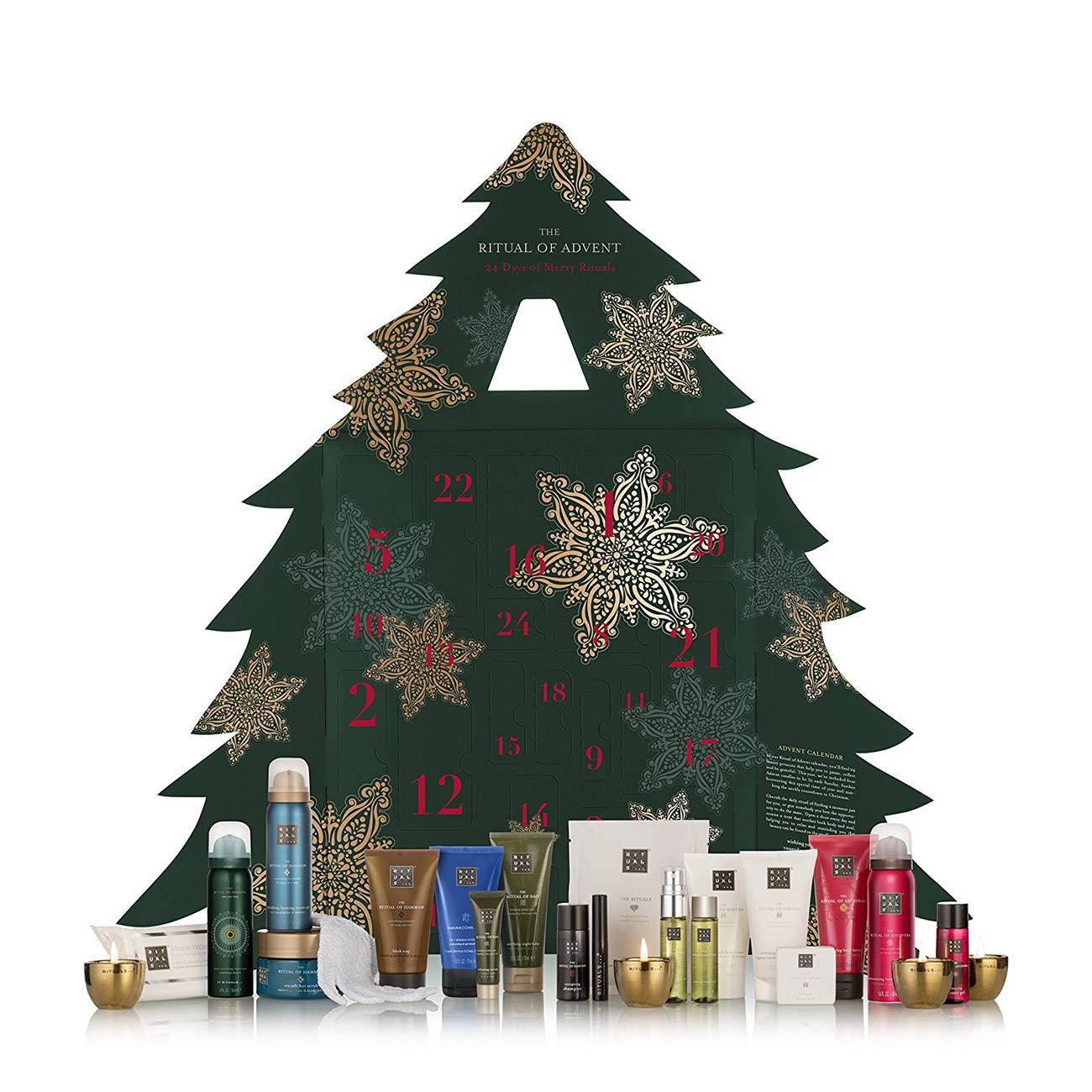 ADVENT 2D CHRISTMAS TREE TRAVEL SET 1123 Ml