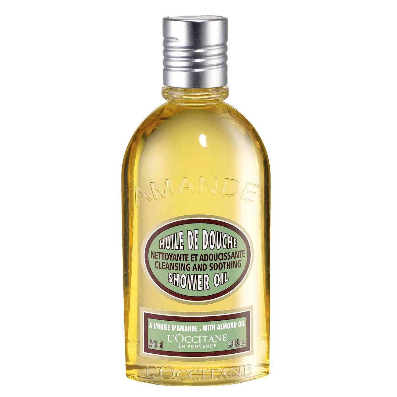 Almond Shower Oil 250 Ml L`Occitane en Provence imagine 2021 bestvalue.eu