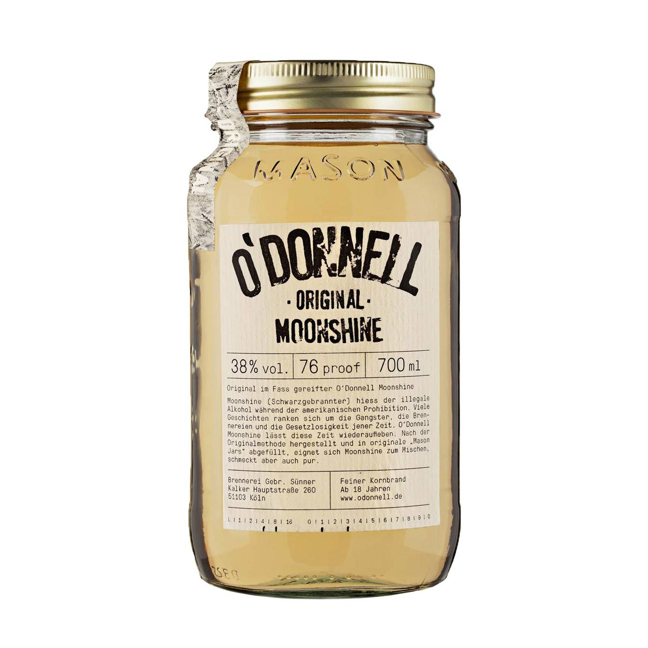 Whiskey american, ORIGINAL 700ml, Moonshine