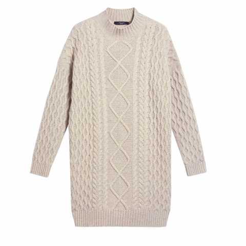 Weekend Max Mara Wool yarn dress XL Rochii