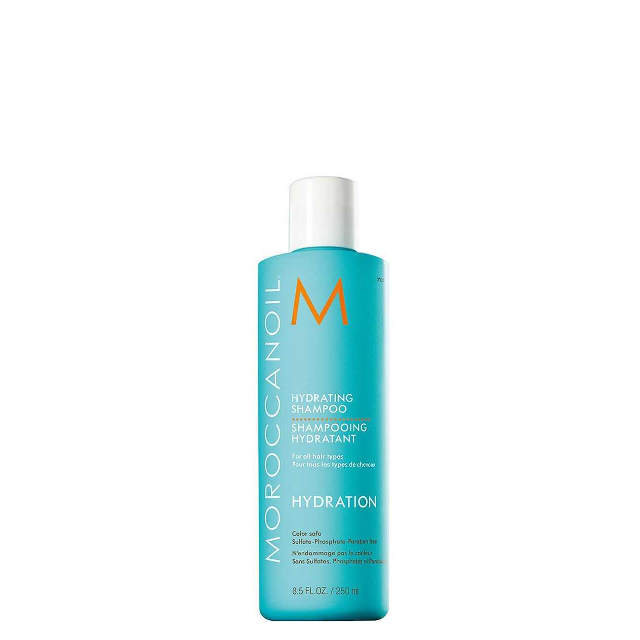 Hair Hydrating Shampoo 250 Ml Moroccanoil imagine 2021 bestvalue.eu