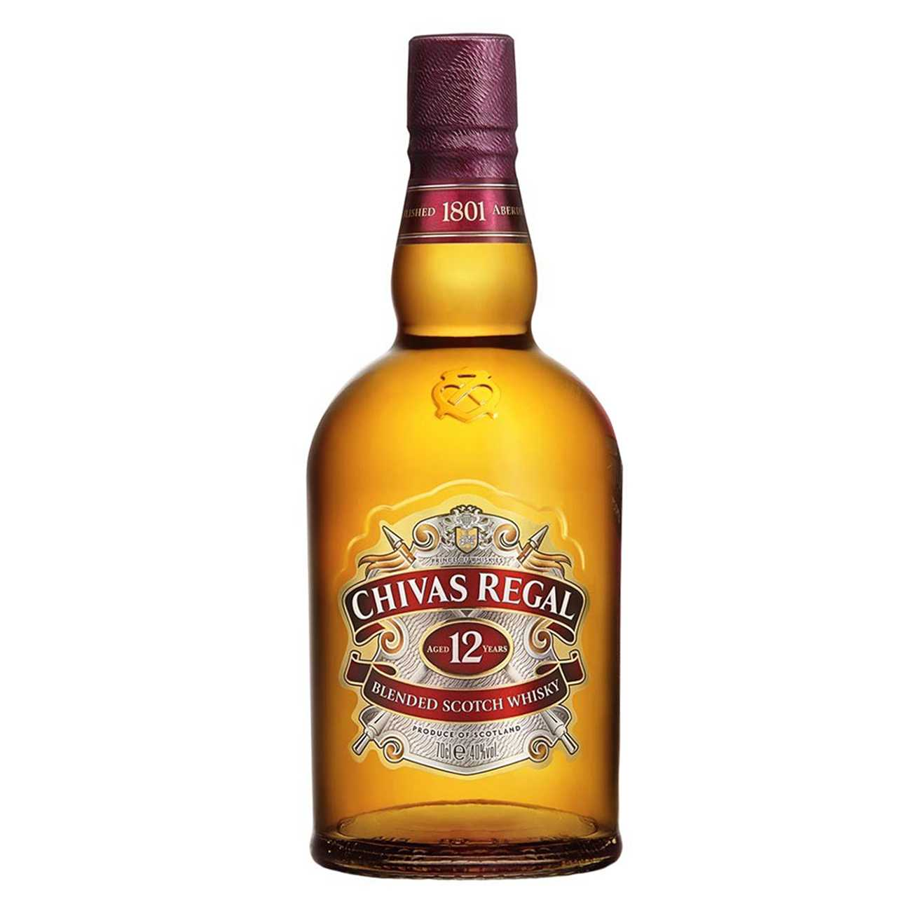 Whisky scotian, 12Y IN GLOBE-TROTTER, Chivas Regal