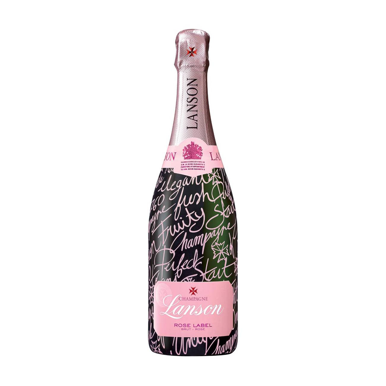 Sampanie, ROSE BRUT MESSAGE IN BOTTLE 750ml, Lanson