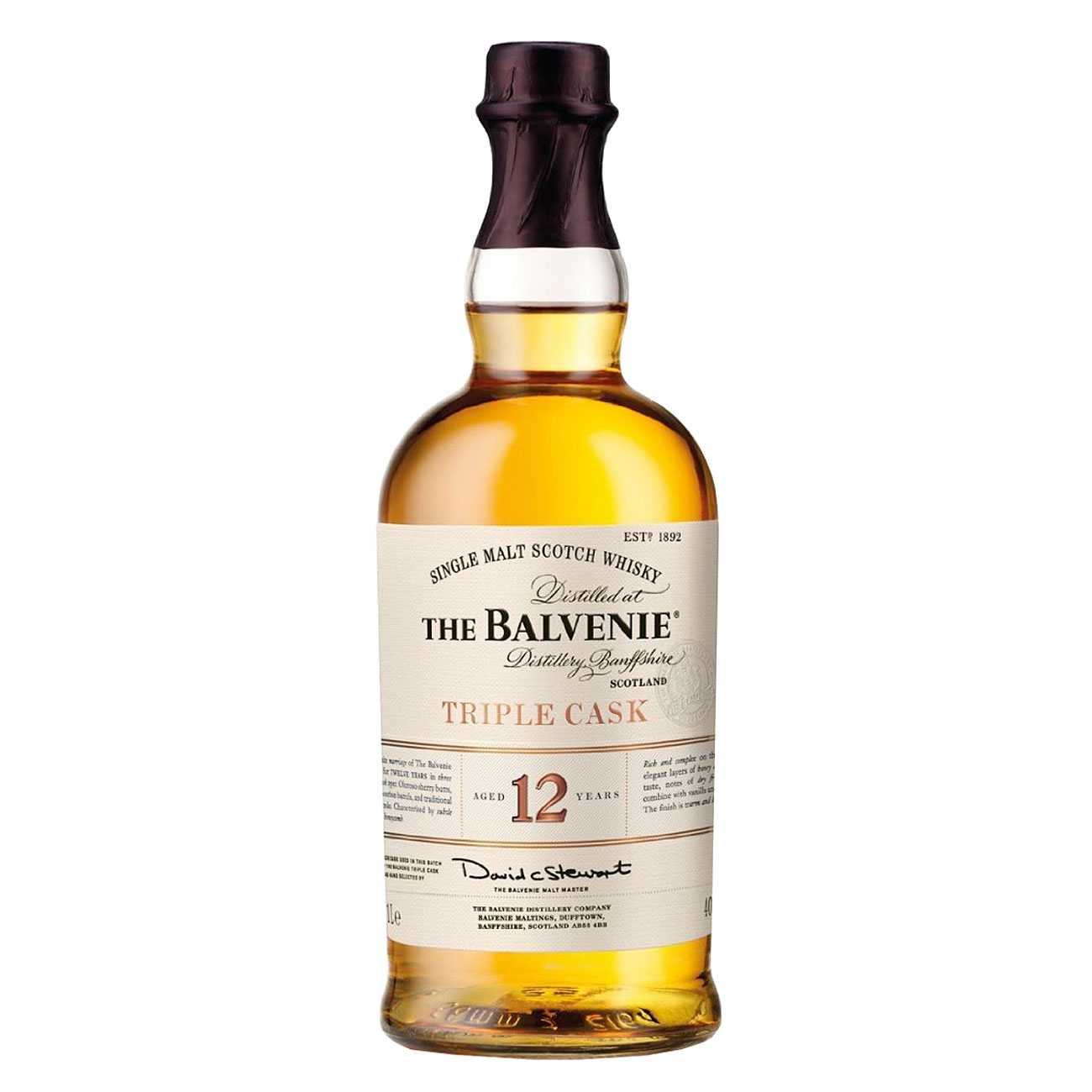 Whisky scotian, TRIPLE CASK 12 YEAR OLD 1000 ML, The Balvenie