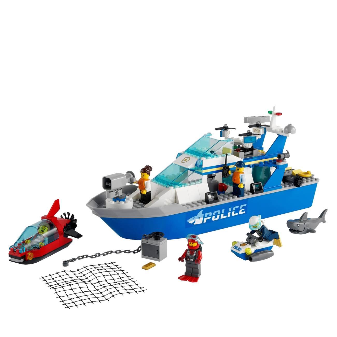 City Police Patrol Boat 60277