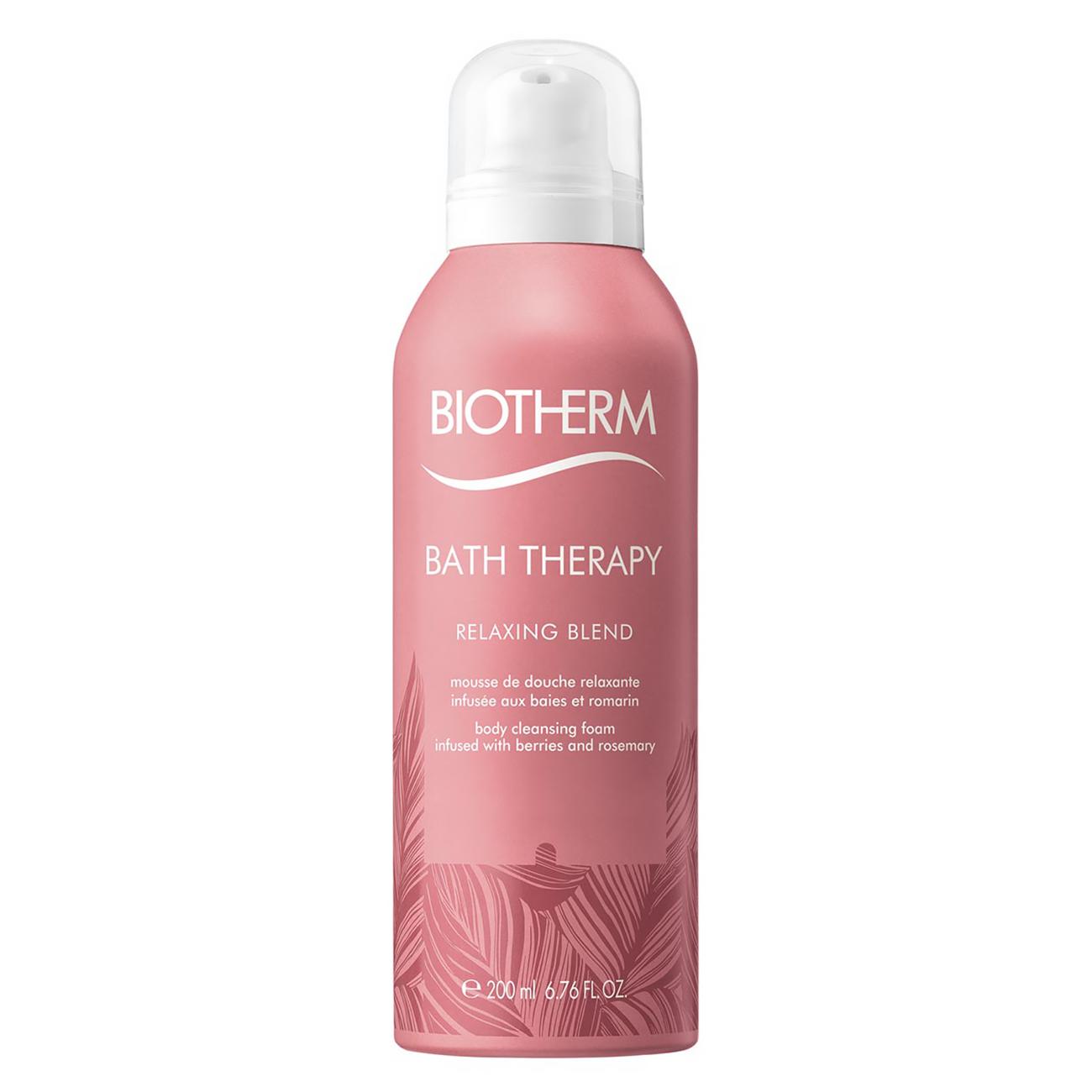 Bath Therapy Relaxing Shower Foam 200ml Biotherm imagine 2021 bestvalue.eu