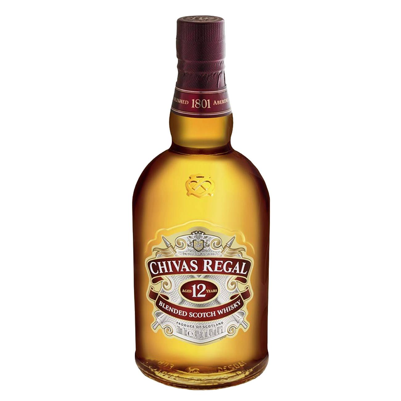 Whisky scotian, LIMITED EDITION TIN 12Y 1000 ML, Chivas Regal