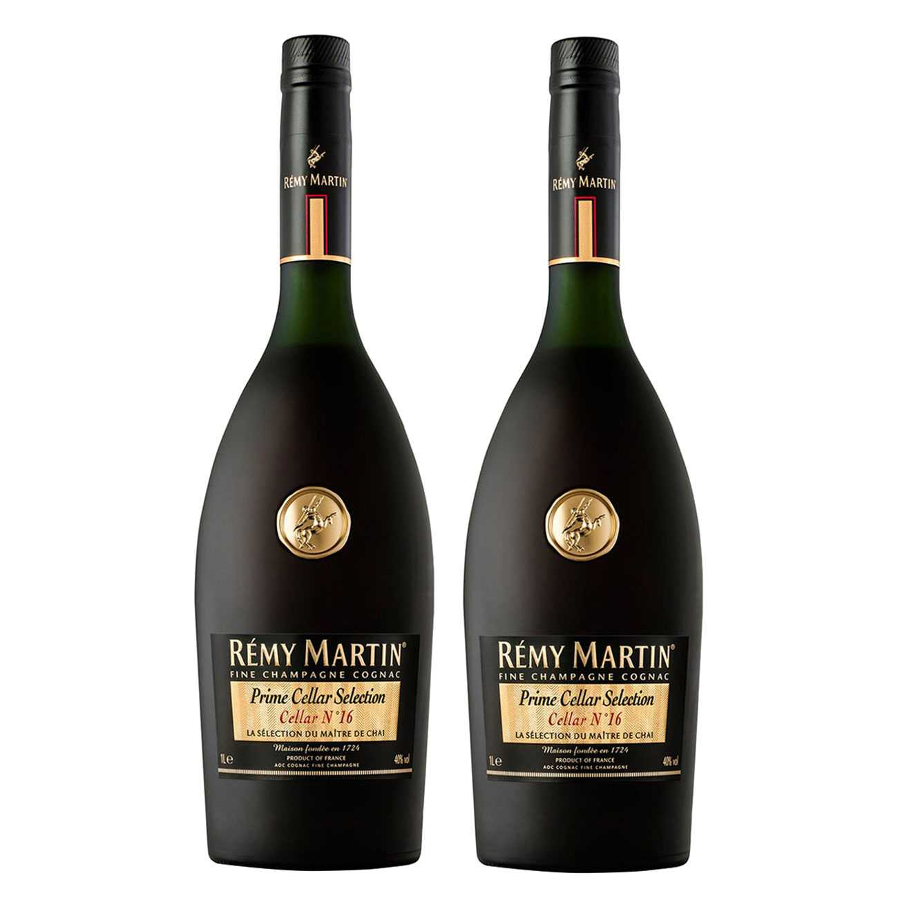 Cognac si brandy, CELLAR NO.16 TWINPACK 2000 ML, Remy Martin