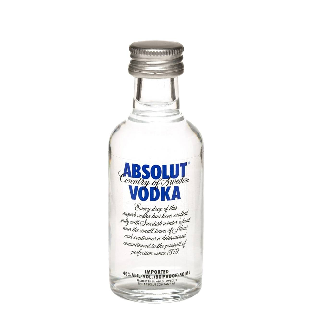 Vodka, BLUE 50 ML, Absolut