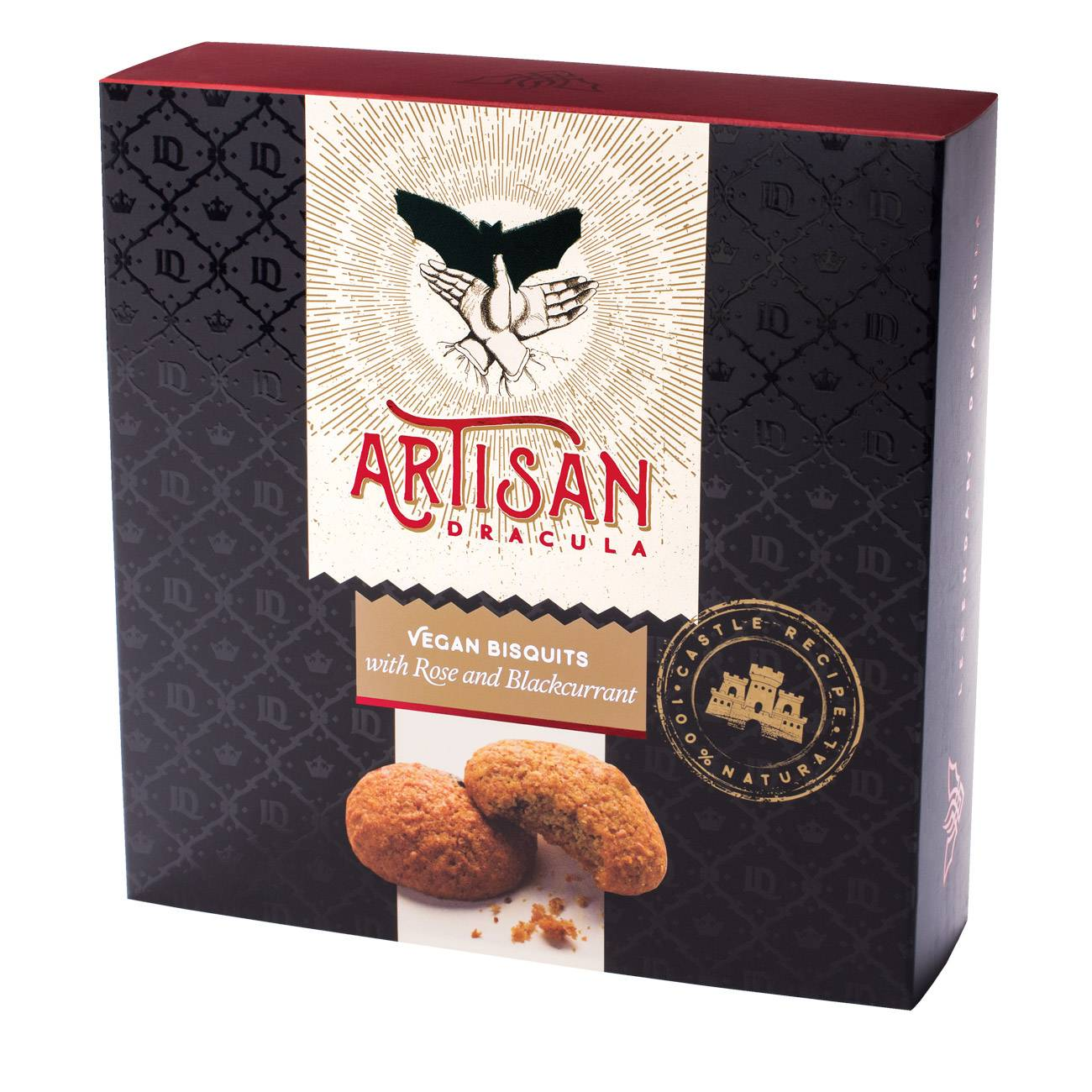 ARTISAN BISQUITS ROSE AND BLACKCURRANT 180 Grame