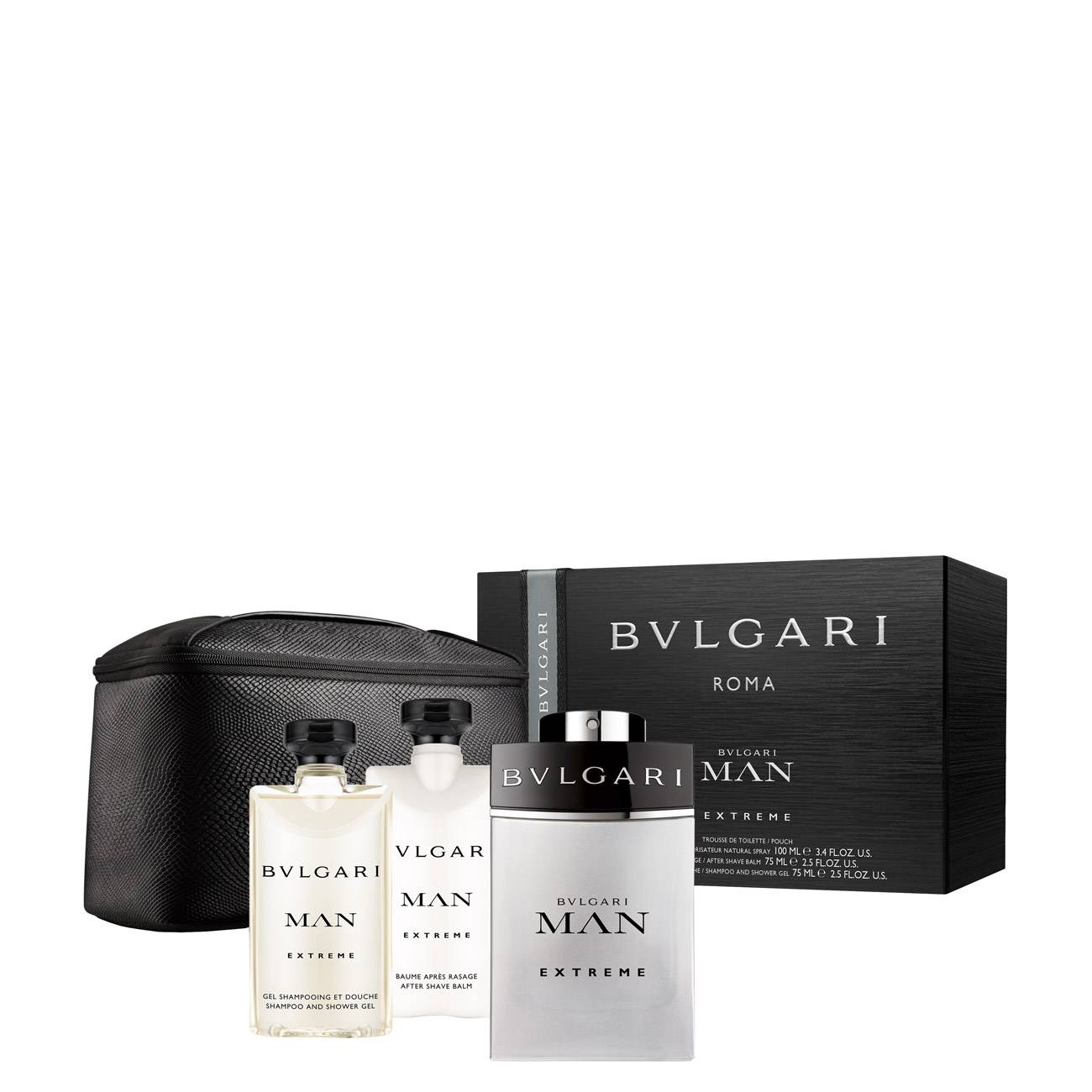 Bvlgari Man Extreme Set 250 Ml 250ml