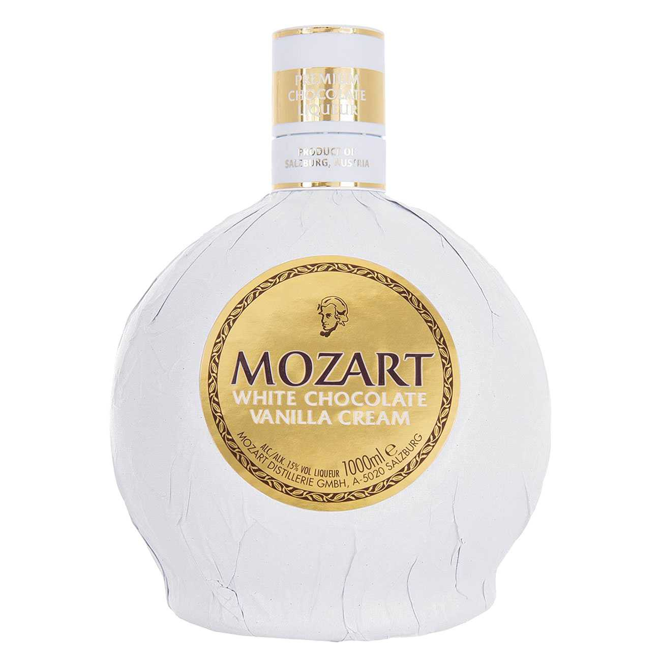 Lichior, WHITE CHOCOLATE VANILLA CREAM 1000 ML, Mozart