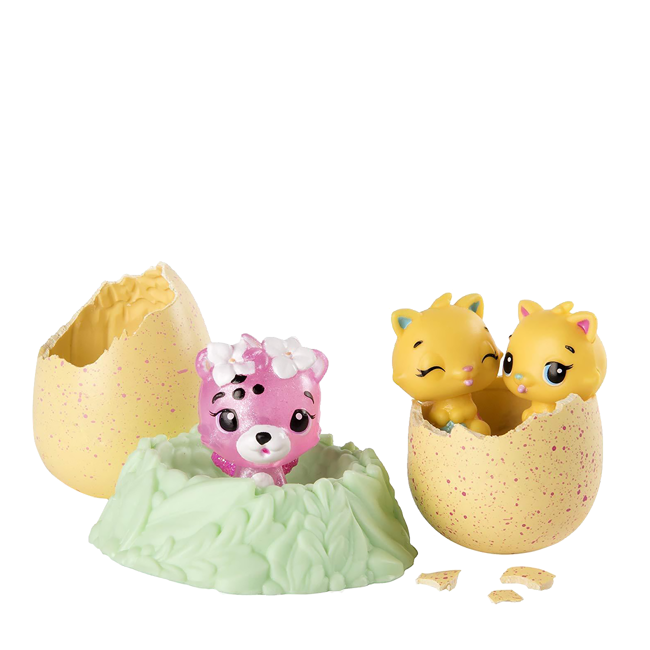 Colleggtibles With Nest Playset