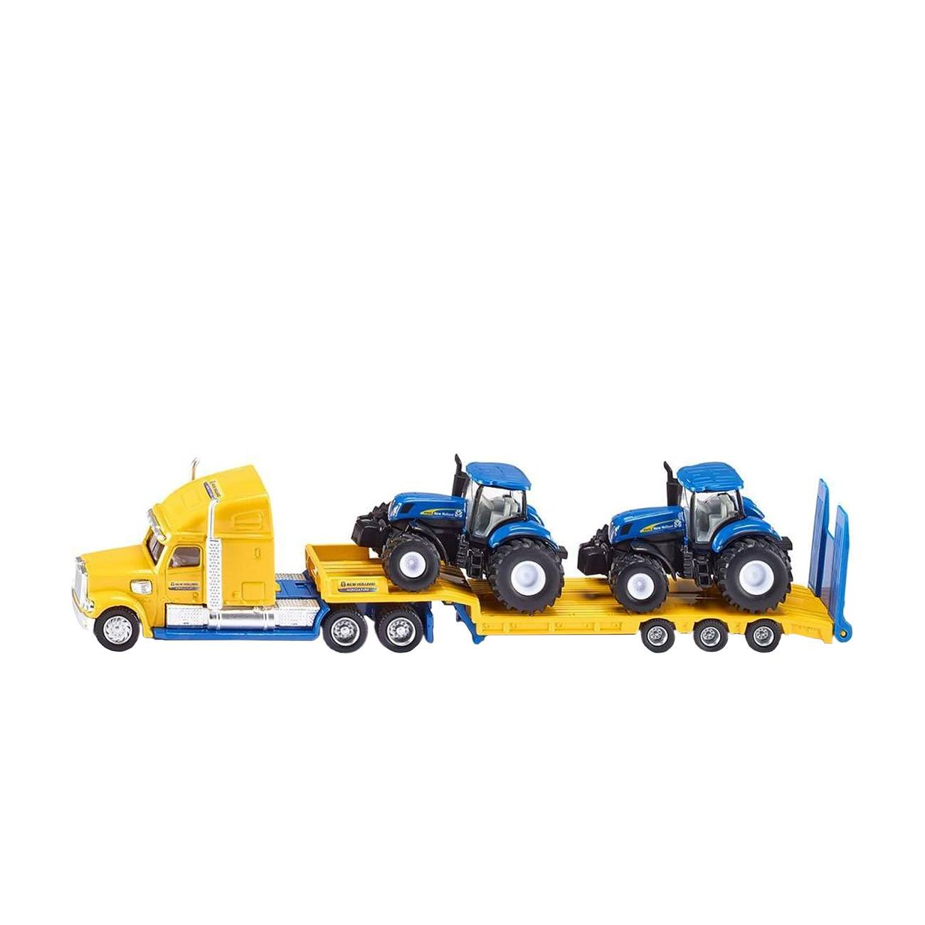 TRUCK WITH NEW HOLLAND TRACTORS