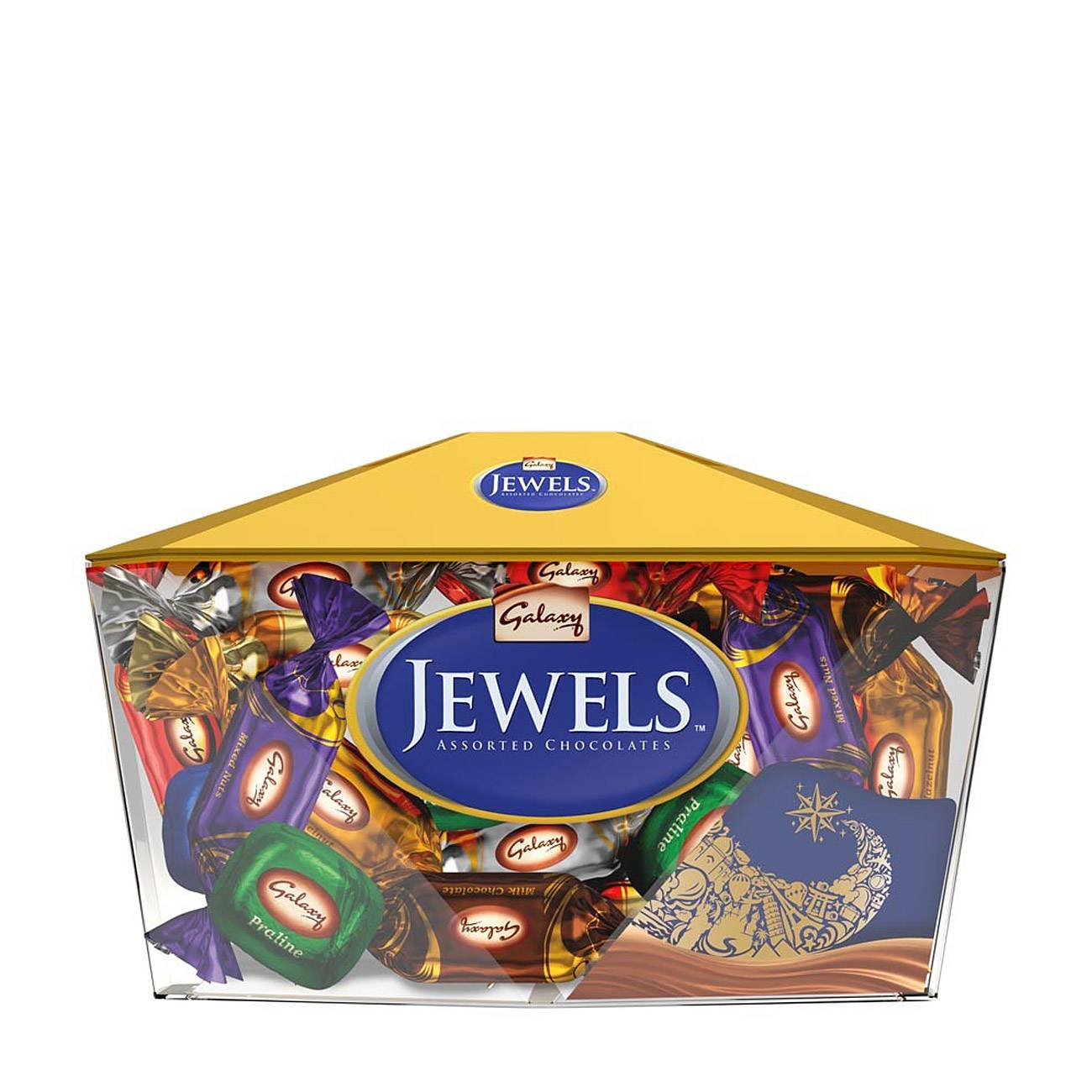 JEWELS ASSORTED CHOCOLATES 400 Grame