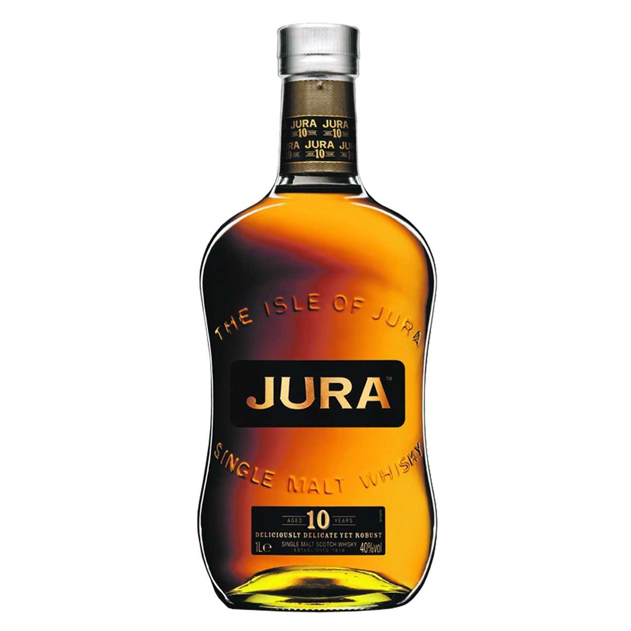 Whisky scotian, 10 YEAR OLD 1000 ML, Isle Of Jura