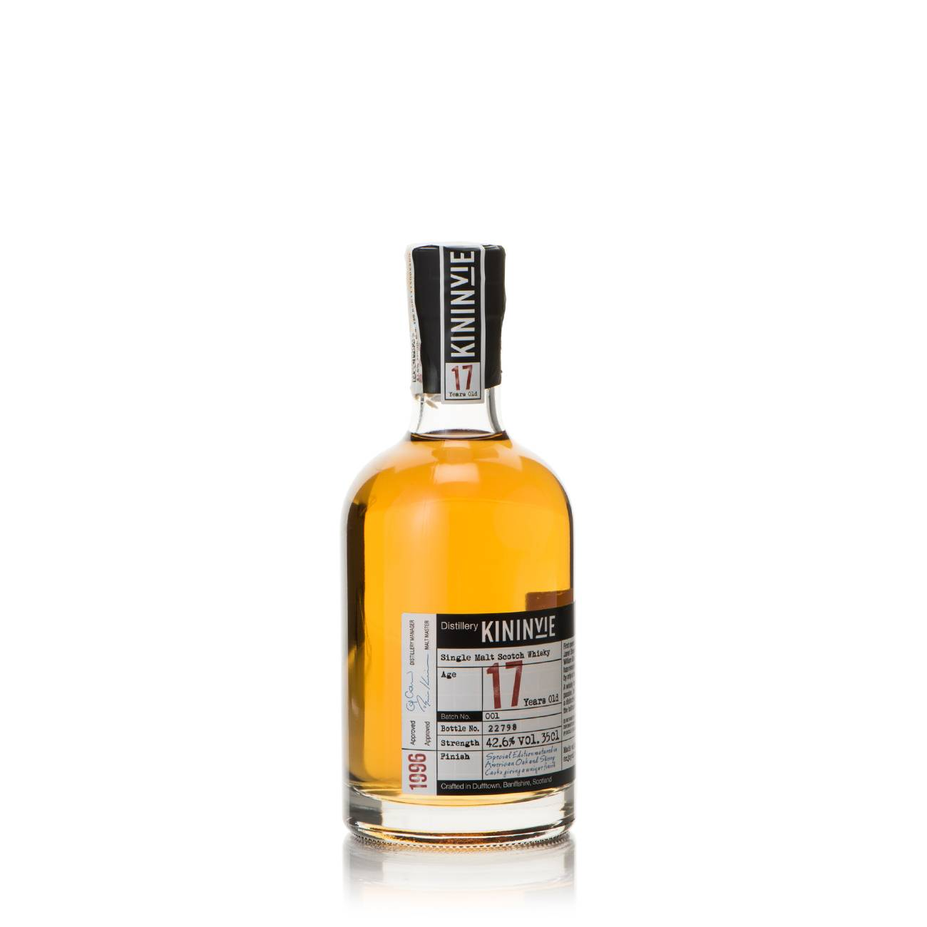 Whisky scotian, 17 Years 350 ML, Kininvie