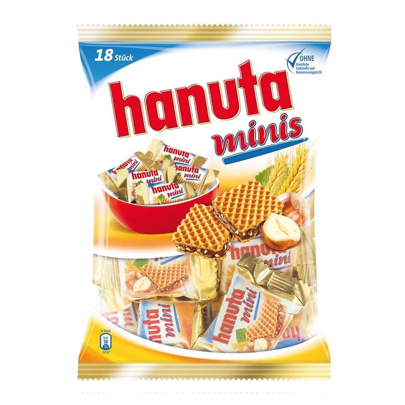 MINI HANUTA WAFERS 200 G
