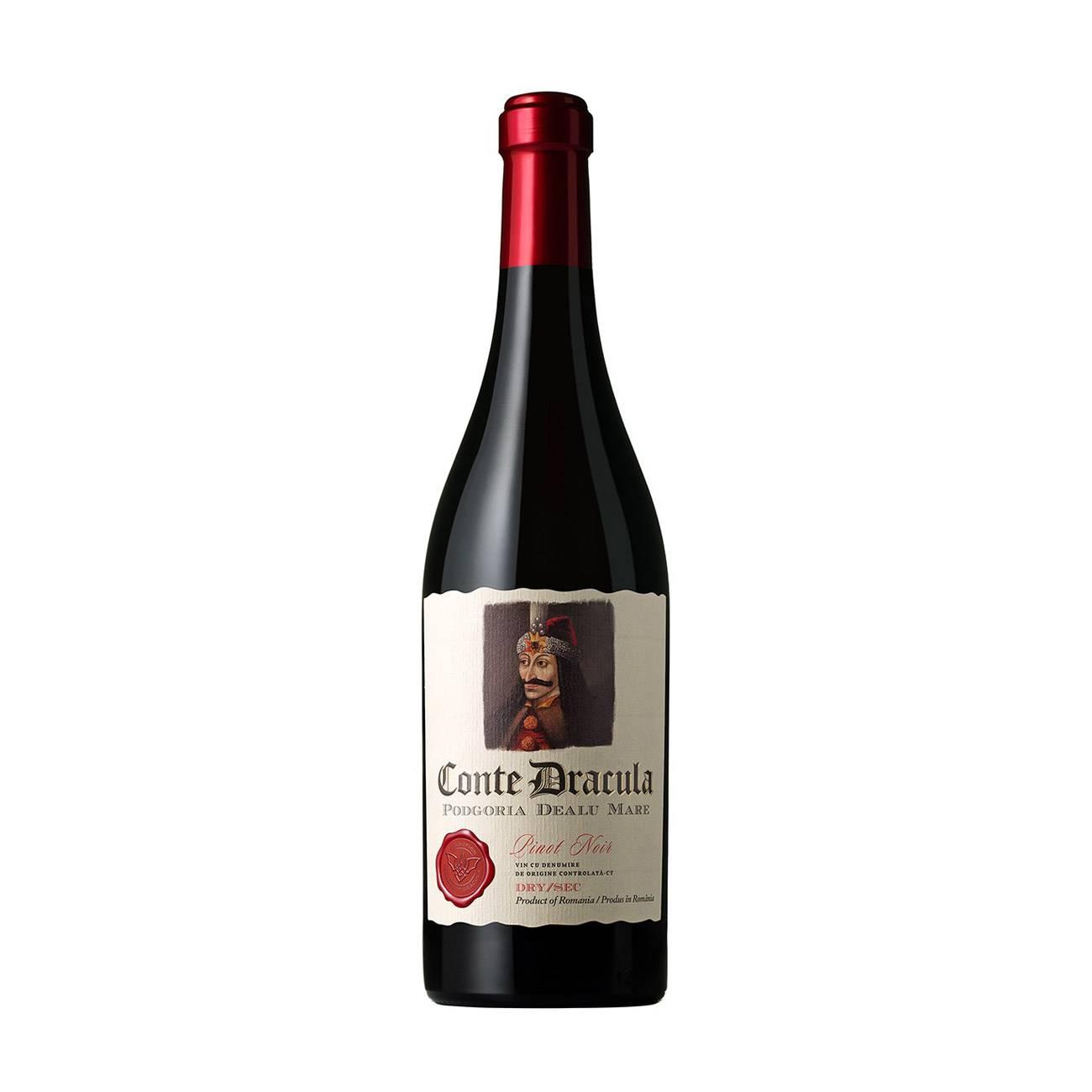 Conte Dracula Pinot Noir 750 Ml 750 Ml de la Legendary Dracula